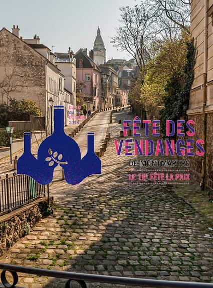Venez à Montmartre pour la Fête des Vendanges