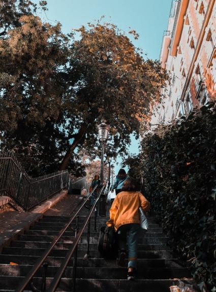 Ascension de la Butte Montmartre