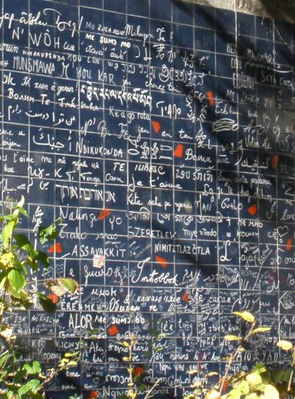 Declare your feelings at the Wall of Love on Valentine's Day