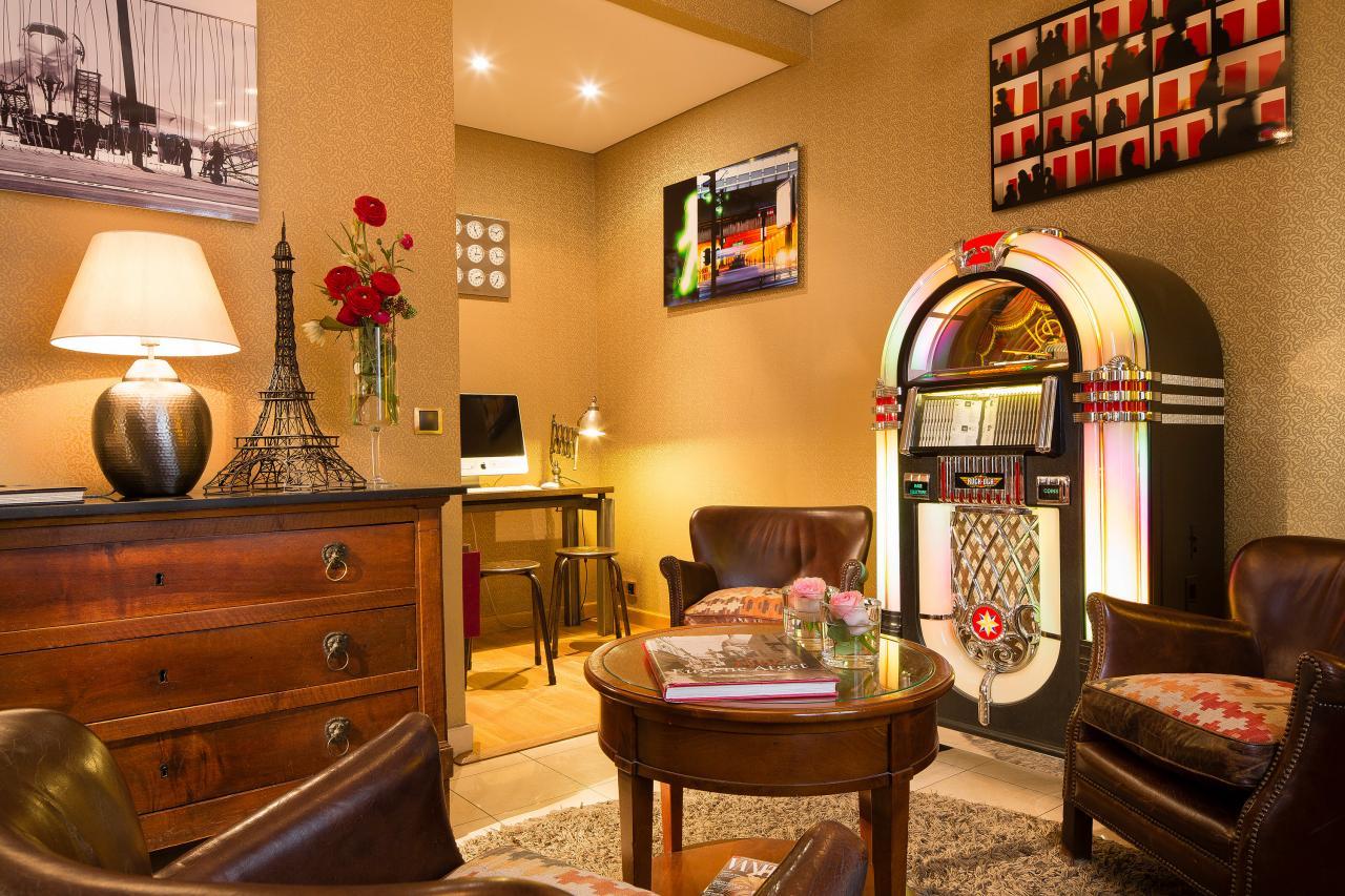 Hotel des Arts Montmartre - SalonHotel des Arts Montmartre - Lounge