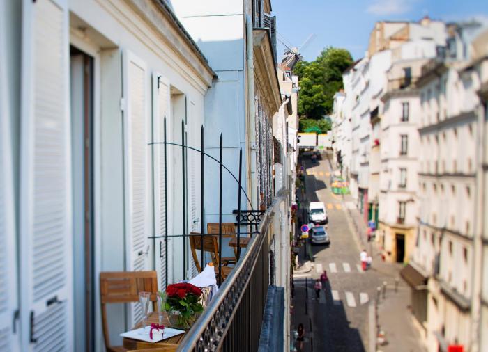 Hotel des Arts Montmartre - Terrasse